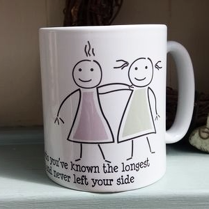 Friendship Mug Personalised With Own Text