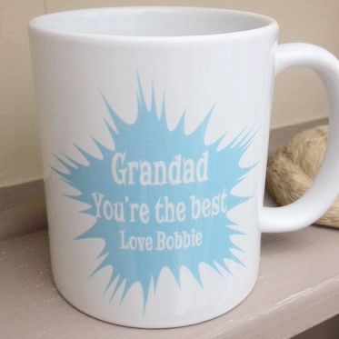Personalised Paint Splatter Gift Mug