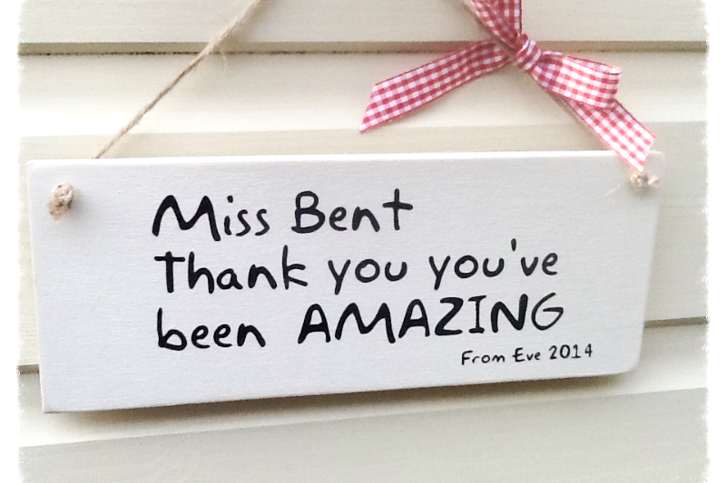 personalised teacher gift you re amazing
