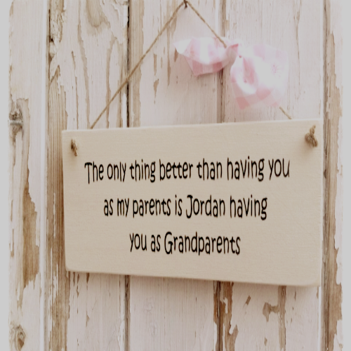 Personalised 'The Only Thing Better...' Gift Plaque