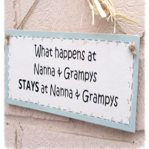 Personalised What Happens At... Wooden Plaque
